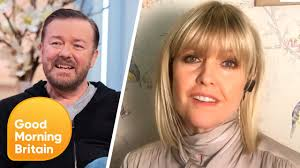 Ashley Jensen Reveals Hilarious Stories With Ricky Gervais Starring in  Extras & After Life| Lorraine - YouTube