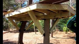 tree house plans for two trees. Perfect Trees How To Install A Tree House Knee Brace U0026 Bracket And Plans For Two Trees 0