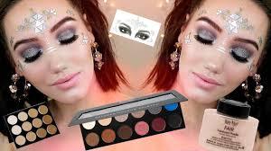 festival makeup tutorial ben nye mehron go get glitter makemeupmissa