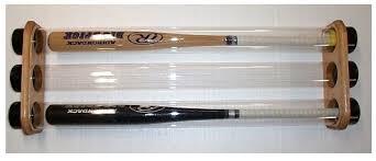 baseball bat display cases basball