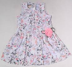 Youngland New Blue Baby Girls Size 4t Floral Print Pleated