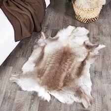 premium caribou reindeer rugs hide skins