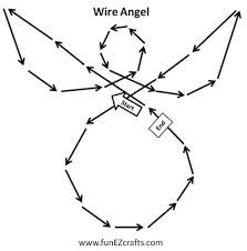 easy angel crafts wire angel how to diagram now i m not much easy angel crafts wire angel how to diagram now i m not