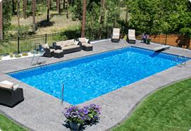 Inground pools Modern Inground Pools Aurora Pools Spas Pool World Pool World Spokane