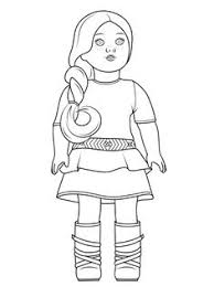 American Girl Coloring Pages Toys And Action Figure Coloring Pages