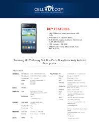 Samsung I9105 Galaxy S II Plus Dark ...