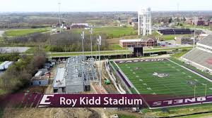 Roy Kidd Stadium Seating Chart Earle Combs Stadium Roy Kidd Stadium Gertrude Hood Field