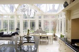 Kitchen in Conservatory Extension Ideas