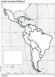 North And South America Blank Map South America Blank Map Asocolpat Co