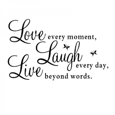 LoveLaugh Live Quotes Love Laugh Live Quotes Wall Decal Iwallsticker 12