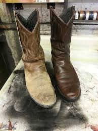 cleaning and conditioning cowboy boots can make such a difference