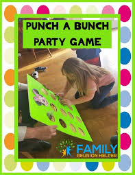 my family is really enjoying punch boards a punch board is an exciting way to award prizes this game show activity allows each person to punch through
