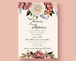 011 Wedding Invitation Card Format Templates Free Download
