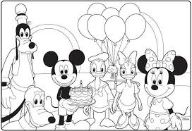 Pin By Tana Newton On Coloring Pages In 2019 Mickey Mouse Coloring