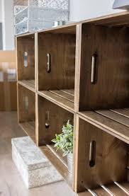 wood crate furniture diy. Diy Crate Storage Wall Unit Wood Crate Furniture Diy I