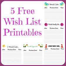 Christmas Wish List Printable Free Wish List Printables 24 Designs To Pick From Farmer's Wife 18