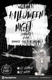 Halloween Dance Flyer Templates Halloween Dance Flyer Halloween Vertical Background