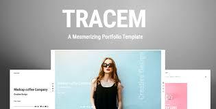 Company Portfolio Template Gorgeous Tracem A Mesmerizing Portfolio Template By ThemesTrace ThemeForest