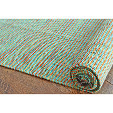 hand woven flatweave 1 8 x 10 multicolour striped long runner rug