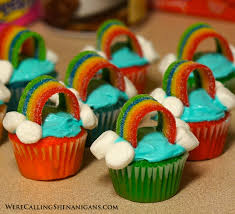 cool cupcakes for girls. Brilliant Cupcakes Mini Rainbow Cupcakes Pinterest Throughout Cool For Girls D
