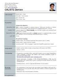 Sample Of Resume For Abroad Sample Resume Waiter Australia Curriculum Vitae Format For Abroad In