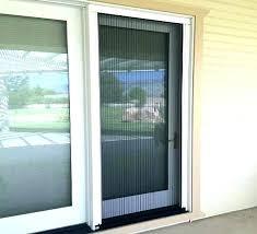 screen for sliding glass door door screen replacement screen door screen genius sheer advance pleated retractable