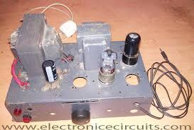 v j class a vacuum tube valve amplifier circuit electronic wiring circuit acircmiddot vacuum tube valve audio amplifier