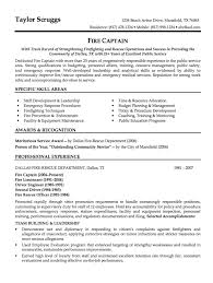 Sample Resume Fire Captain - http://resumesdesign.com/sample-resume