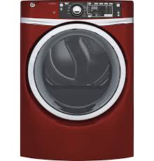 Ge Front Load Gas Dryer Red Gfd48gspkrr Home Appliances Appliance