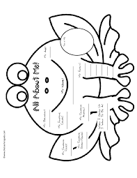 AllAboutMeFrog 001 001 all about me worksheet free worksheets library download and on free excel worksheet