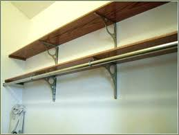 how to build closet shelves clothes rods closet shelf support closet rod support bracket closet shelves