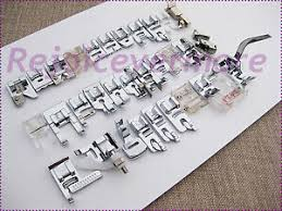 Details About Jumbo Feet Foot Set For Bernina Sewing Machine Old Style 530 830 1630