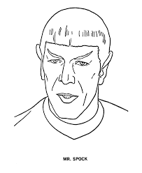 Small Picture Star Trek Coloring Page Sheets Free Printable TV and Movie