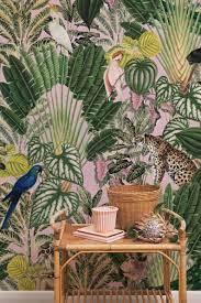 Pink jungle wallpaper, Wild animals ...