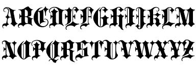 black letter font blackletter extrabold font download