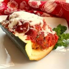 meatloaf in zucchini