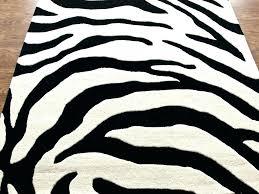 zebra print rug zebra print area