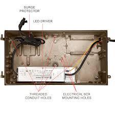 w led wall pack w equal plt e led wall pack 110 watt 8910 lumens image