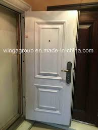 italy style decorative outside security copper glass door w gb 07