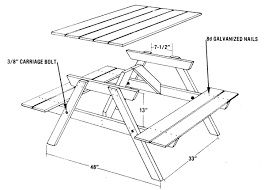 Build A Picnic Table From Five Easy Pieces  DIY  MOTHER EARTH NEWSHow To Make Picnic Bench