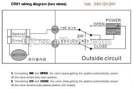 wiring diagram for motor operated valve wiring mini solenoid water valve motor operated cwx 15 food grade on wiring diagram for motor