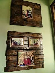 pallet wood picture frame. pallet picture frame wood