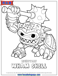 Small Picture To Print Skylander Coloring Pages 48 For Your Line Drawings with