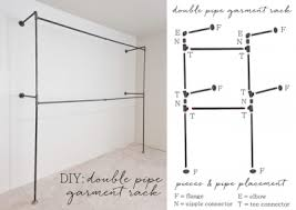 Plumbing Pipe Coat Rack This simple outline of how to build a plumbing pipe clothing racks 6