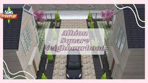 Sims Freeplay | Albion Square 😍| Neighbourhood House | Tour🤍 - YouTube