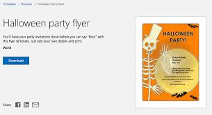 12 Free Halloween-Themed Templates For Microsoft Word