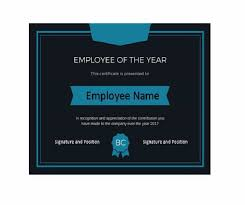 Employee Of The Month Template With Photo 30 Printable Employee Of The Month Certificates Template Archive
