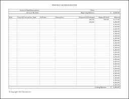 Printable Ledger Template Checkbook Ledger Template Checkbook Register Template Free