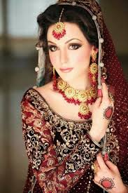 beautiful and pretty bridal makeup desi indian bride dulhan hd collection page 43