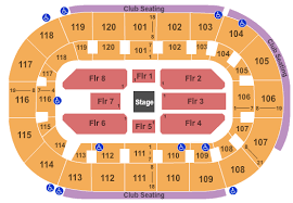 Hertz Arena Seating Chart Estero